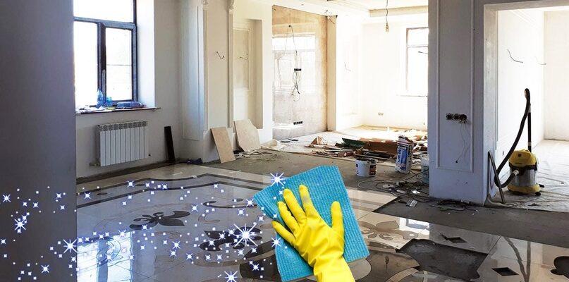 Что входит в уборку квартиры после ремонта?