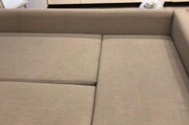 Почистили диван силами ice-cleans, 08.12.2020