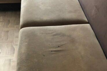 Экочистка дивана в квартире, для Сергея, 19.03.2021
