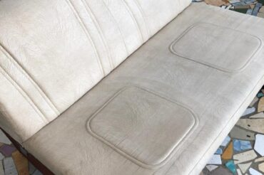 Дали вторую жизнь дивану в Йошкар-Оле!